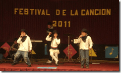 Festival estudiantil comunal en Ercilla