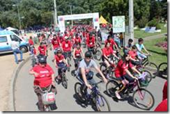 Récord de participantes en cicletada del Tour IND en Temuco