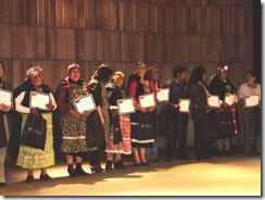 Certificación y premios para emprendendores y microempresarios de Malleco