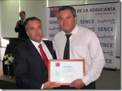 Intendente de La Araucanía y SENCE destacaron a gerencia de capacitación de INACAP Temuco