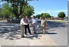 Chol-Chol revisa avances en materia de infraestructura con el MOP