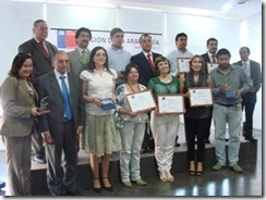 SENCE premió a empresas y OTEC destacadas en el año