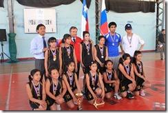 Liga Escolar del IND terminó con masiva ceremonia de premiación