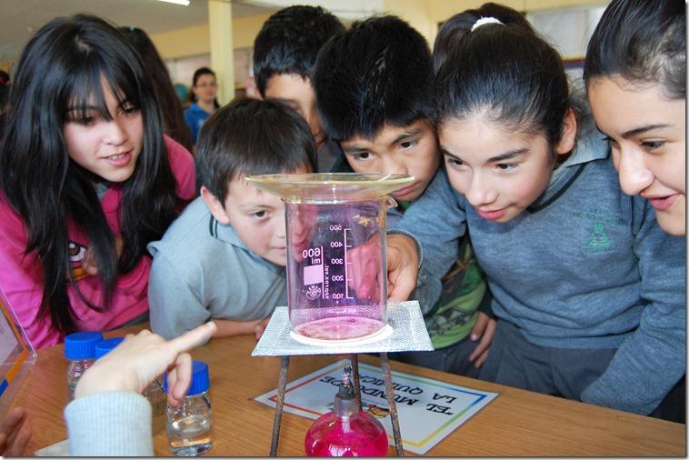 Ciencia Itinerante Colegio de Aplicación 3