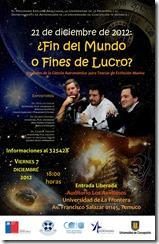 Tertulia Astronomica Afiche