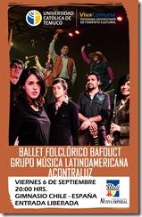 Afiche Ballet Folclorico