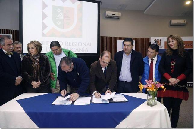 FOTO gobierno regional de la araucanía y el MOP... 2