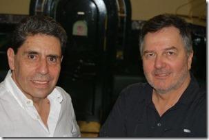 Mauricio Rojas y Roberto Ampuero
