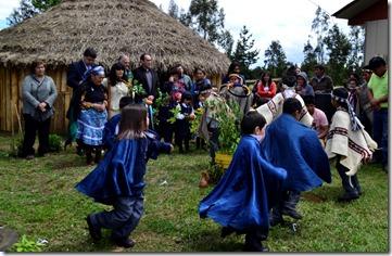 inauguración  ruca turística en Chomío (1)