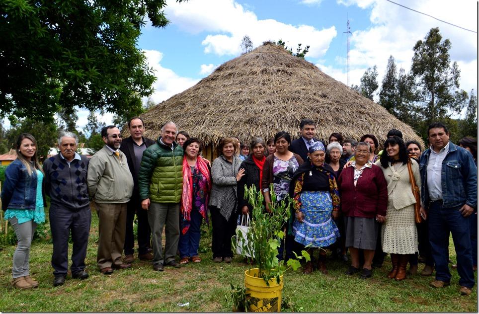 inauguración  ruca turística en Chomío (4)