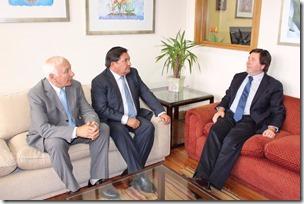 1. Reunión de alcalde con subsecretario de proyectos regionales---