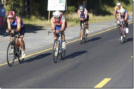 11 Enero, Pucón - Chile. Competencia Herbalife Ironman 70.3 Pucón 2015 que se desarrollo en la ciudad turistica de la región de la Araucania con los alrededores del volcán y lago Villarrica. Fotografía: Sebastian Miranda