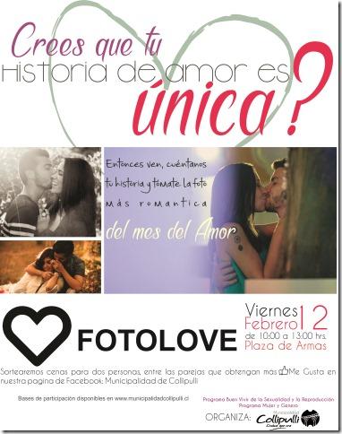 Afiche Fotolove 2
