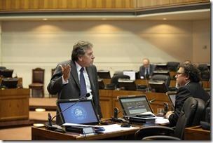 Espina en el Senado
