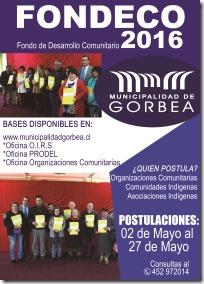 FONDECO 2016