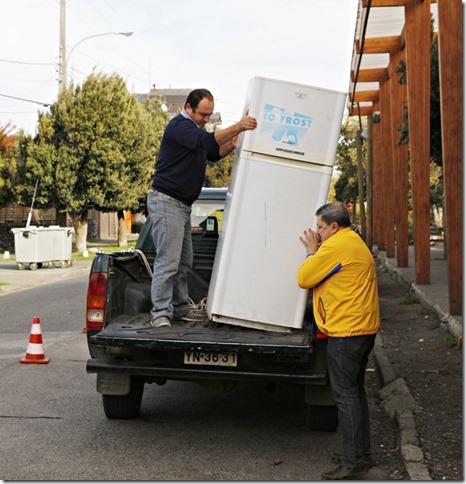 FOTO recolección campaña reciclaje 4