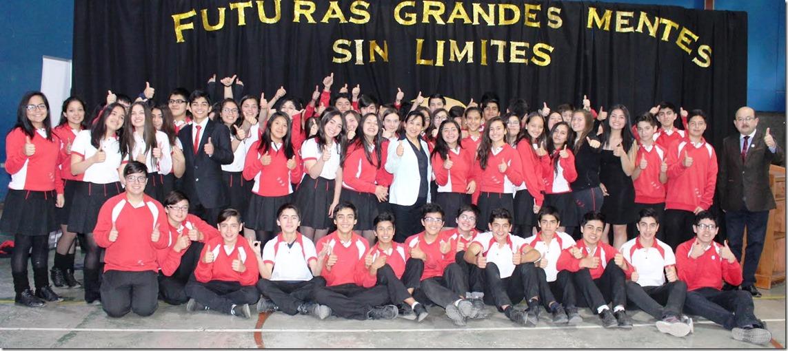 Alumnos del Liceo Bicentenario Araucanía (1)