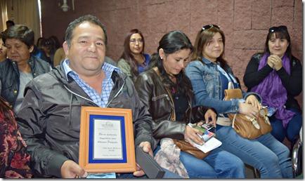 Artesanos de Villarrica fueron homenajeados  (1)