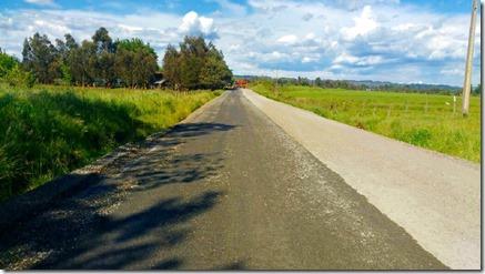 Avanzan trabajos de asfalto del Camino Monte Las Diucas – Manzanal en Angol (3)