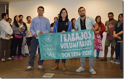 Estudiantes voluntarios