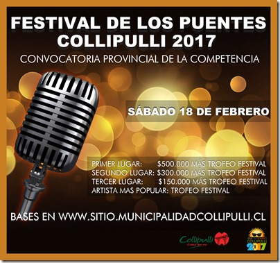 Festival de los Puentes - Bases