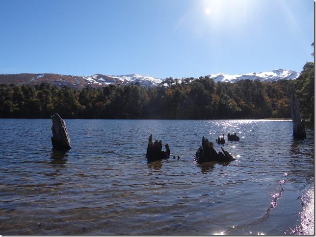 Laguna Captrén en Conguillío