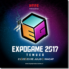 Expogame Temuco 2017 afiche