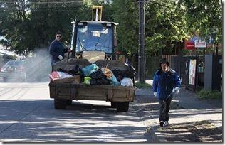 FOTO extracción de basura