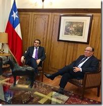 Quintana y ministro de Justicia
