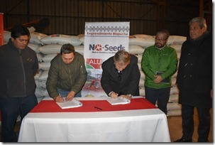Firma compromiso Corfo -NG Seeds