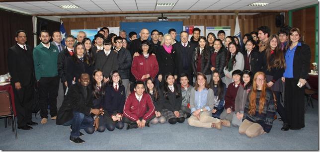 fotos escolares y embajadora
