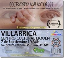 Resonando Por Chile_Afiche VILLARRICA