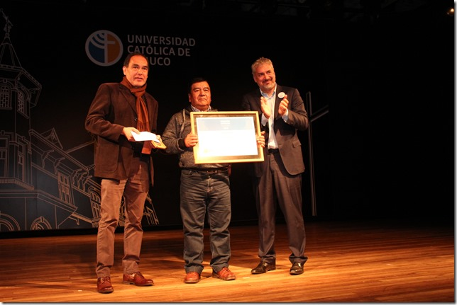 Director de Cultura , Artesano Oscar Huaiquimil, Ministro