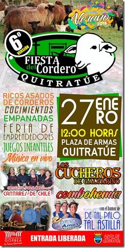 Afiche Fiesta del Cordero