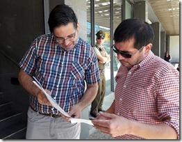 Santiago Rodriguez - pdte Colegio de Periodistas de la Araucanía
