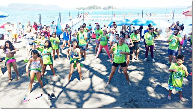 Durante el verano se vivió el deporte en la comuna lacustre  (4)