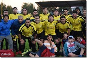 Equipo de futbol Ferrovilla de Villarrica obtiene título nacional