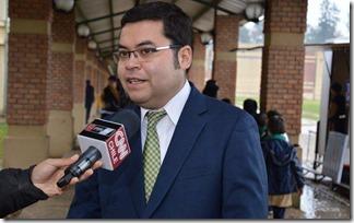 Franklin Avila, rector Colegio Pumahue de Temuco