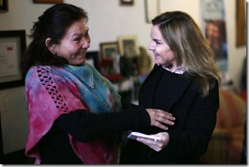 Ministra Alejandra Perez y Rosa Ramirez (5)