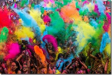 FOTO the color run