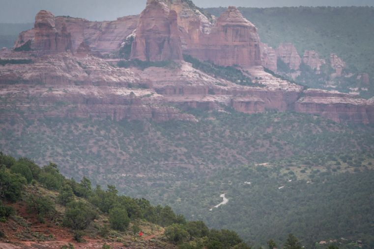 Trail Running in Sedona on the Cocodona 250 course