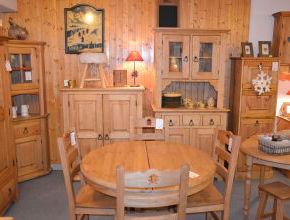 meubles de montagne pin et sapin