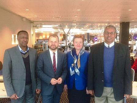 Somaliland Forgein Minister meets Norwegian
