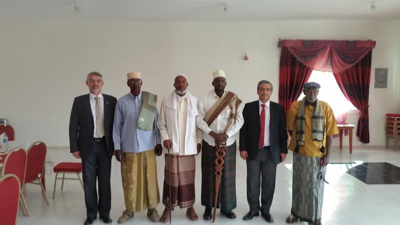 Afarsuldaanoo Somaliland ah iyo saraakiisha Turkiga   Ambasssador Hargeysa