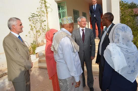 Muuqaalka Hoggaamiyayaasha labada Xisbi ee WADDANI iyo KULMIYE Iyo Dublamaasiyiinta Turkiga 27 Nov 2015 Hargeysa Somaliland