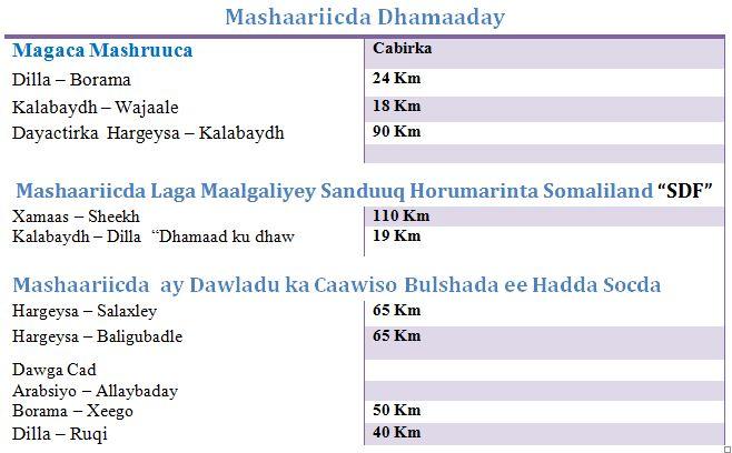mashaariicda dhamaday