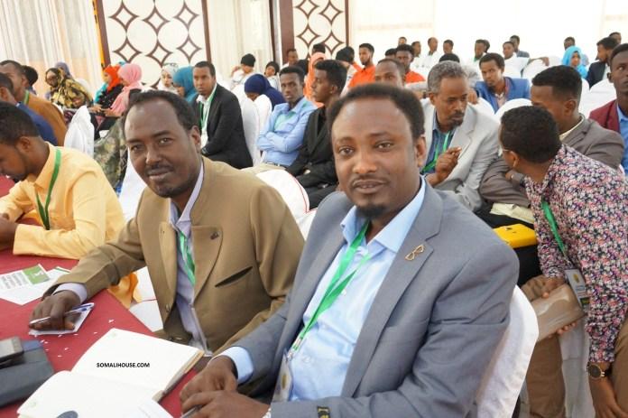 Shirweynaha qaranka ee Saxaafadda Somaliland 29, Dec 2018. Hargeysa Maansoor.
