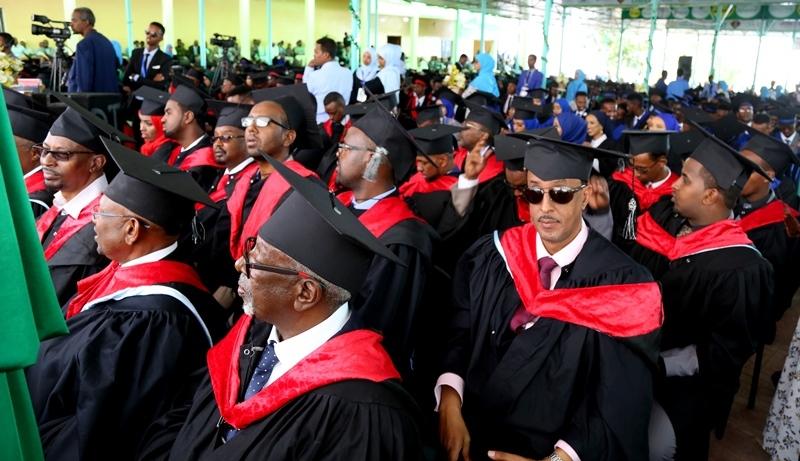 Xaflada Dafcadii 16aad ee jamacadda Hargeysa 29 August 2019.