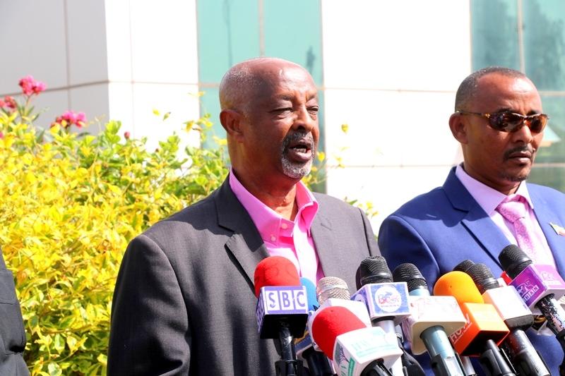 Wasiirka Arrimaha Gudaha Somaliland, Maxamed Kaahin, oo warbaahinta la hadlaya Araweelo News Network 22 August  2019 Hargeysa