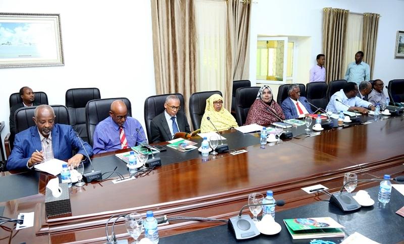Kal-fadhigii 43-aad ee golaha wasiirrada Jamhuuriyadda Somaliland 12 Oct 2019, qasriga Madaxtooyadda Somaliland